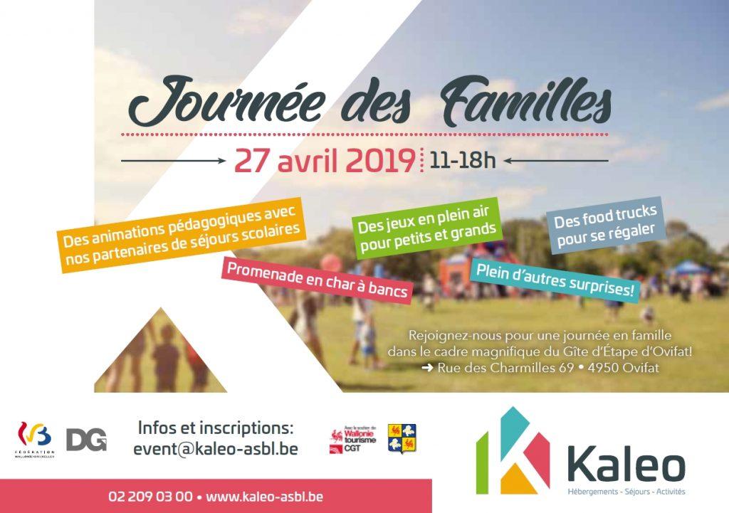 Journée des familles - Kaleo ASBL