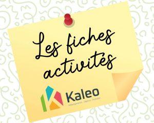 Kaleo présente son Livret d'Activités